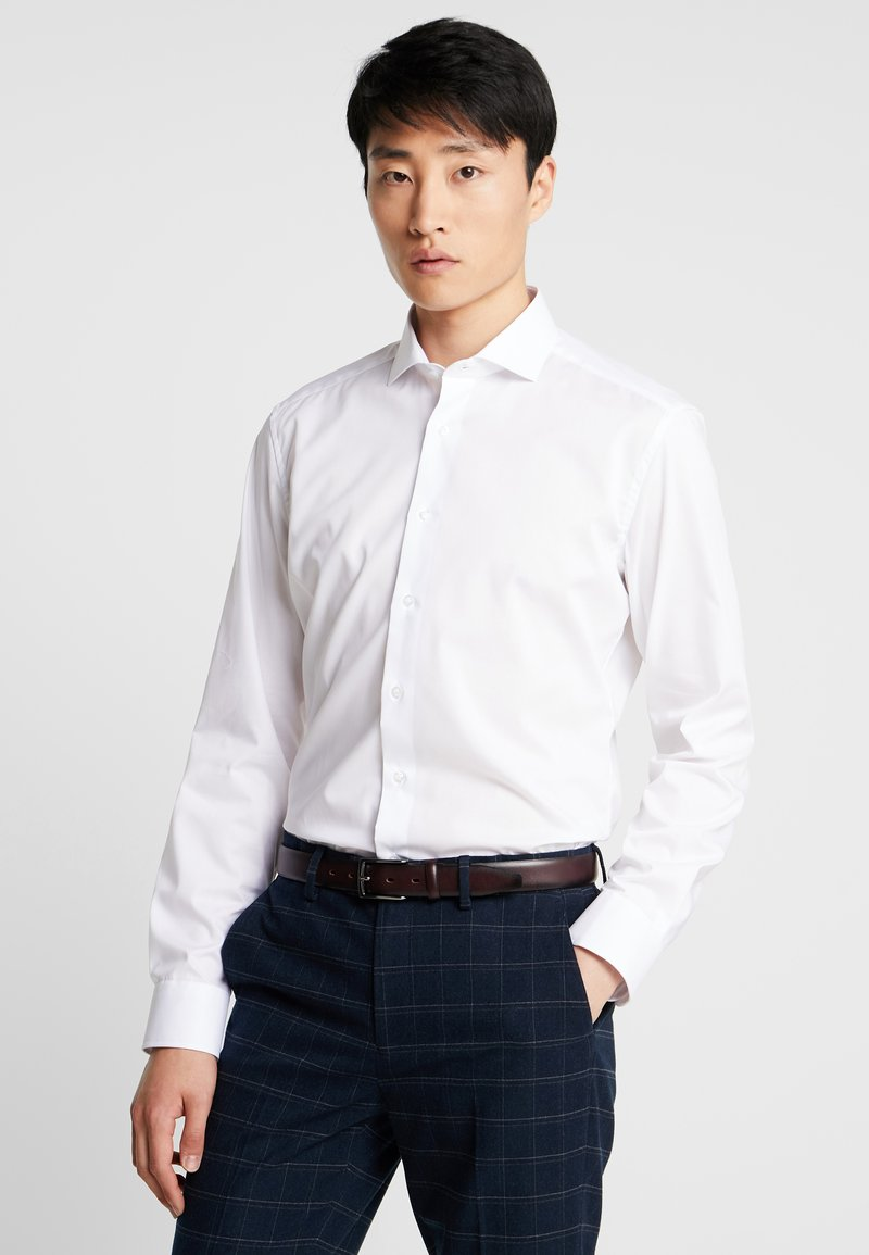 Eterna - SLIM FIT - Camisa elegante - white