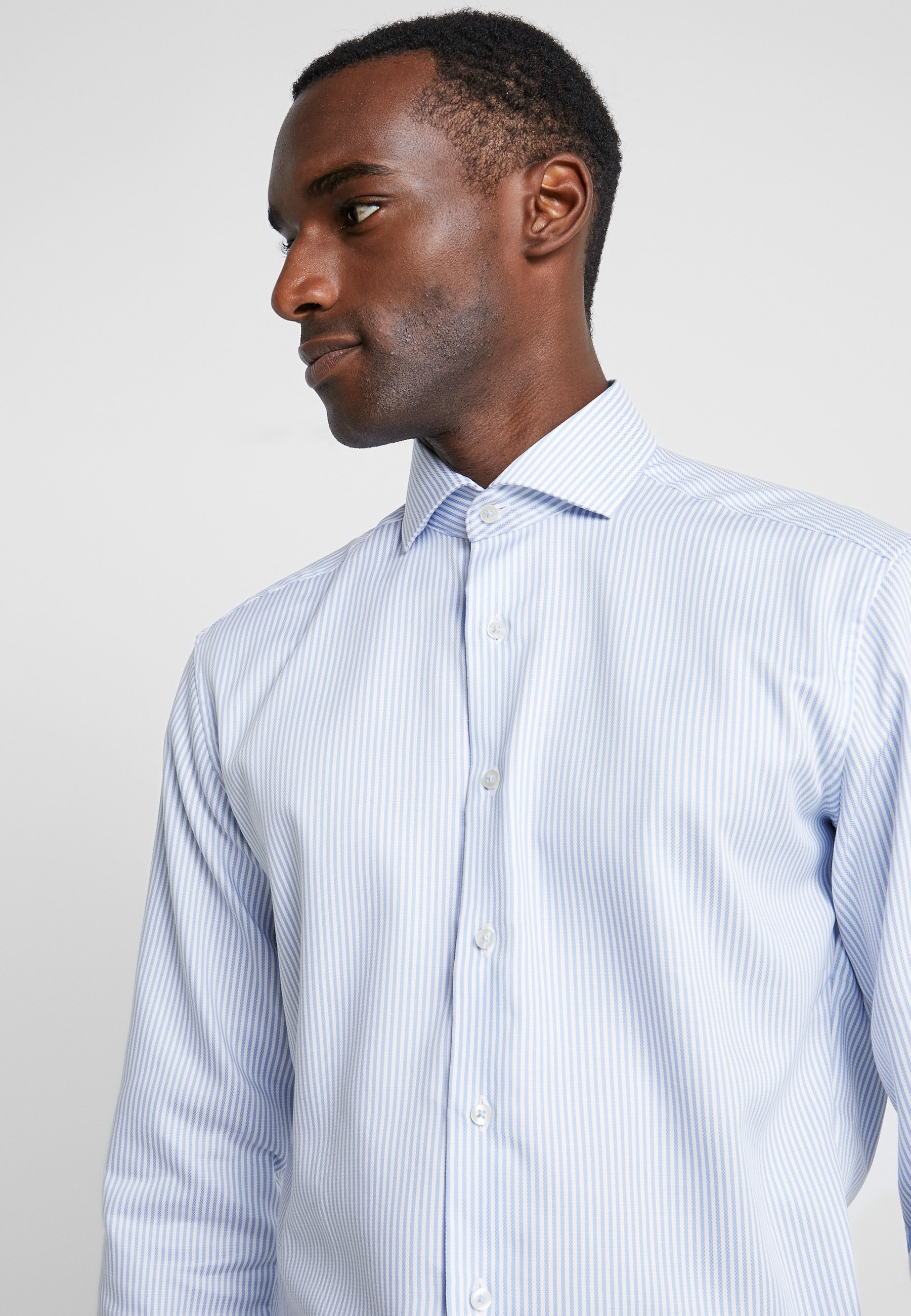 Eterna SLIM FIT- Businesshemd bleu