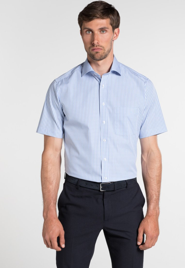 Eterna - FITTED WAIST - Hemd - blue