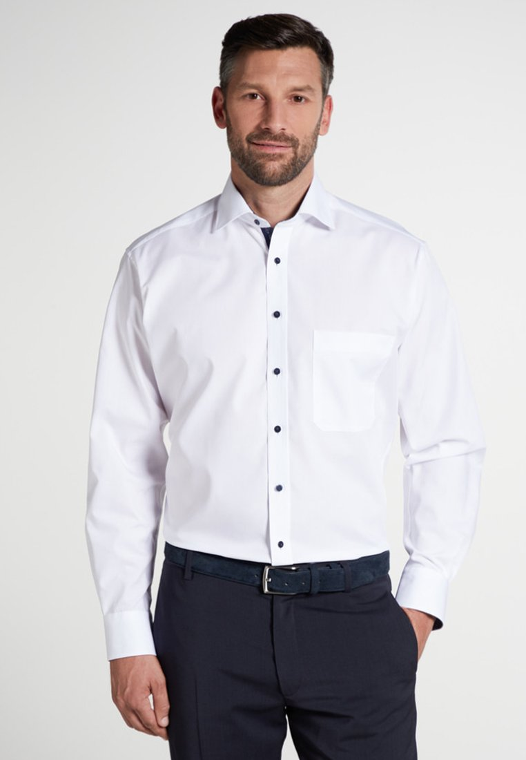 Eterna - COMFORT FIT - Shirt - white