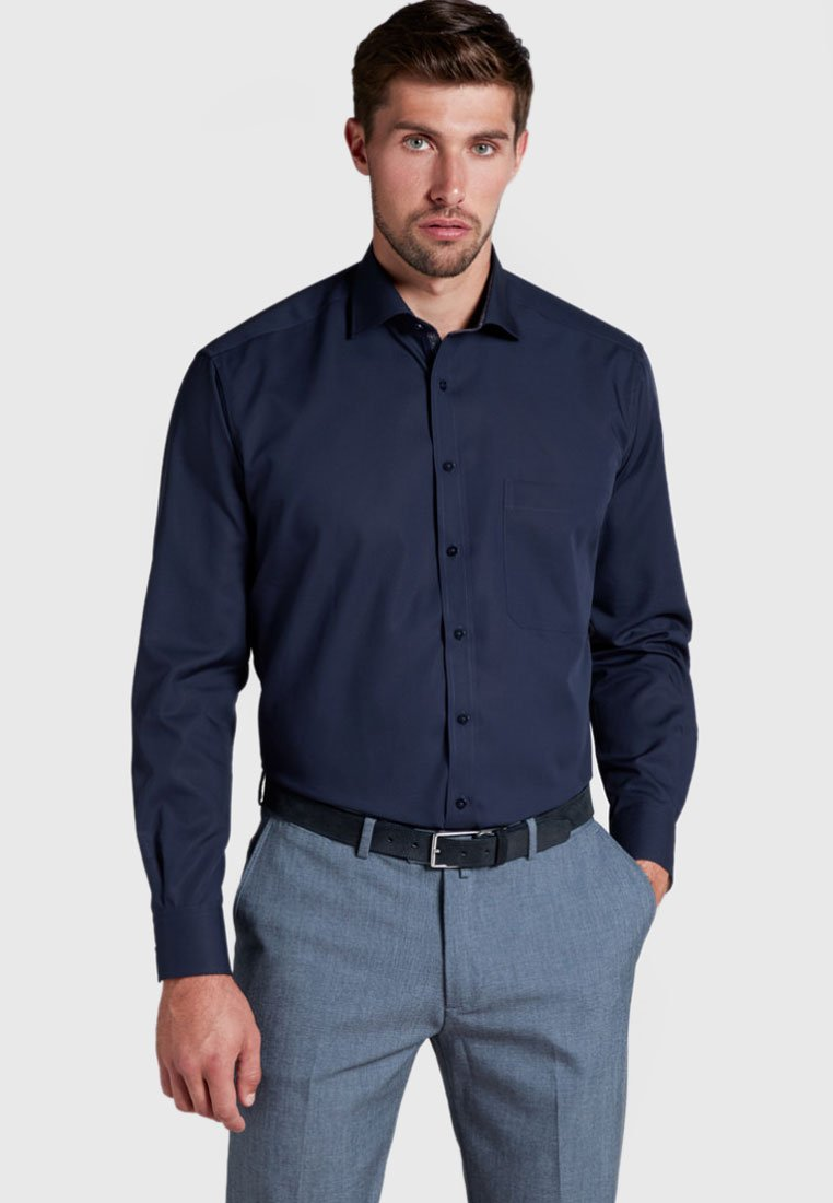 Eterna - COMFORT FIT - Shirt - navy blue
