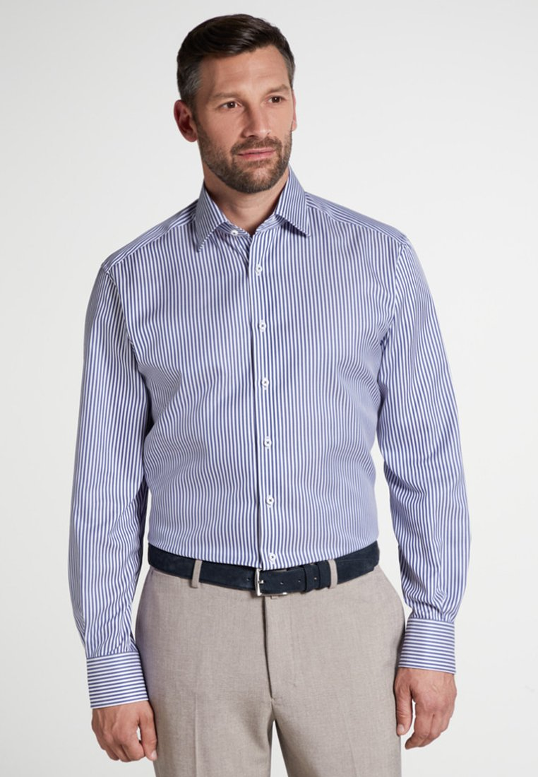 Eterna - COMFORT FIT - Businesshemd - navy/white