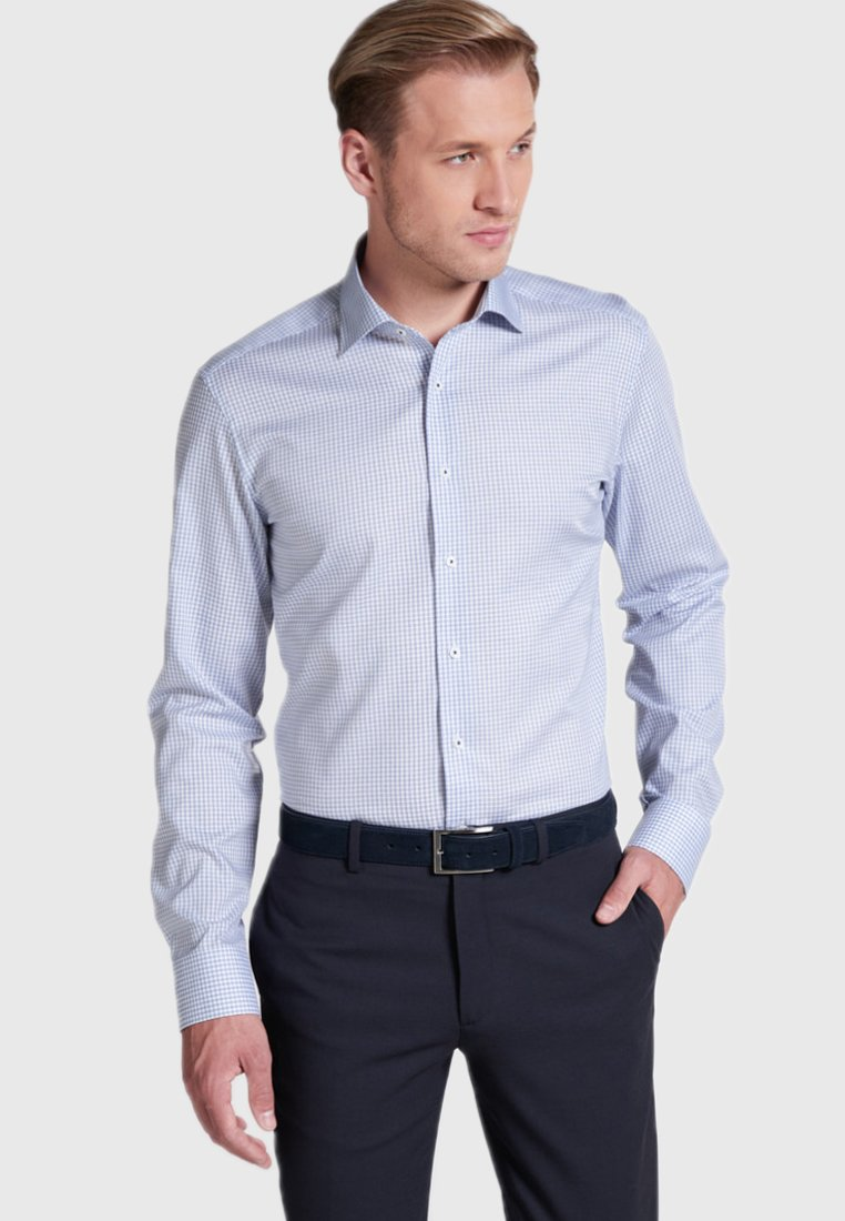 Eterna - SLIM FIT - Hemd - blue