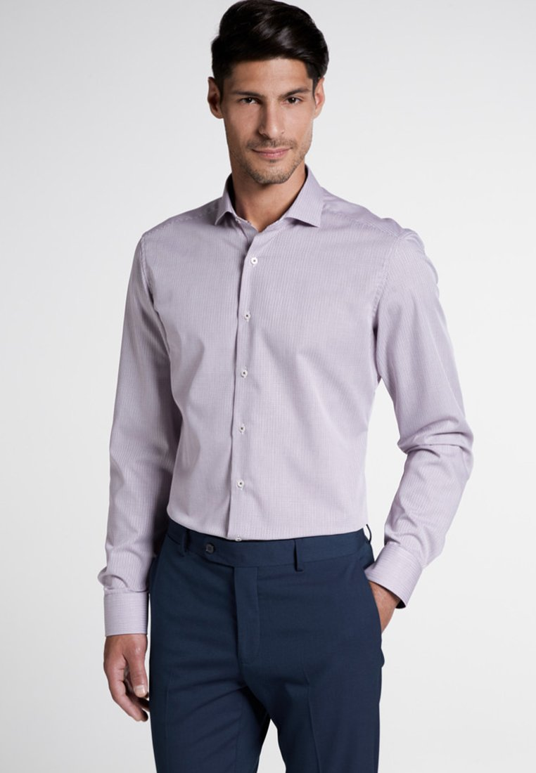 Eterna - SLIM FIT - Shirt - purple