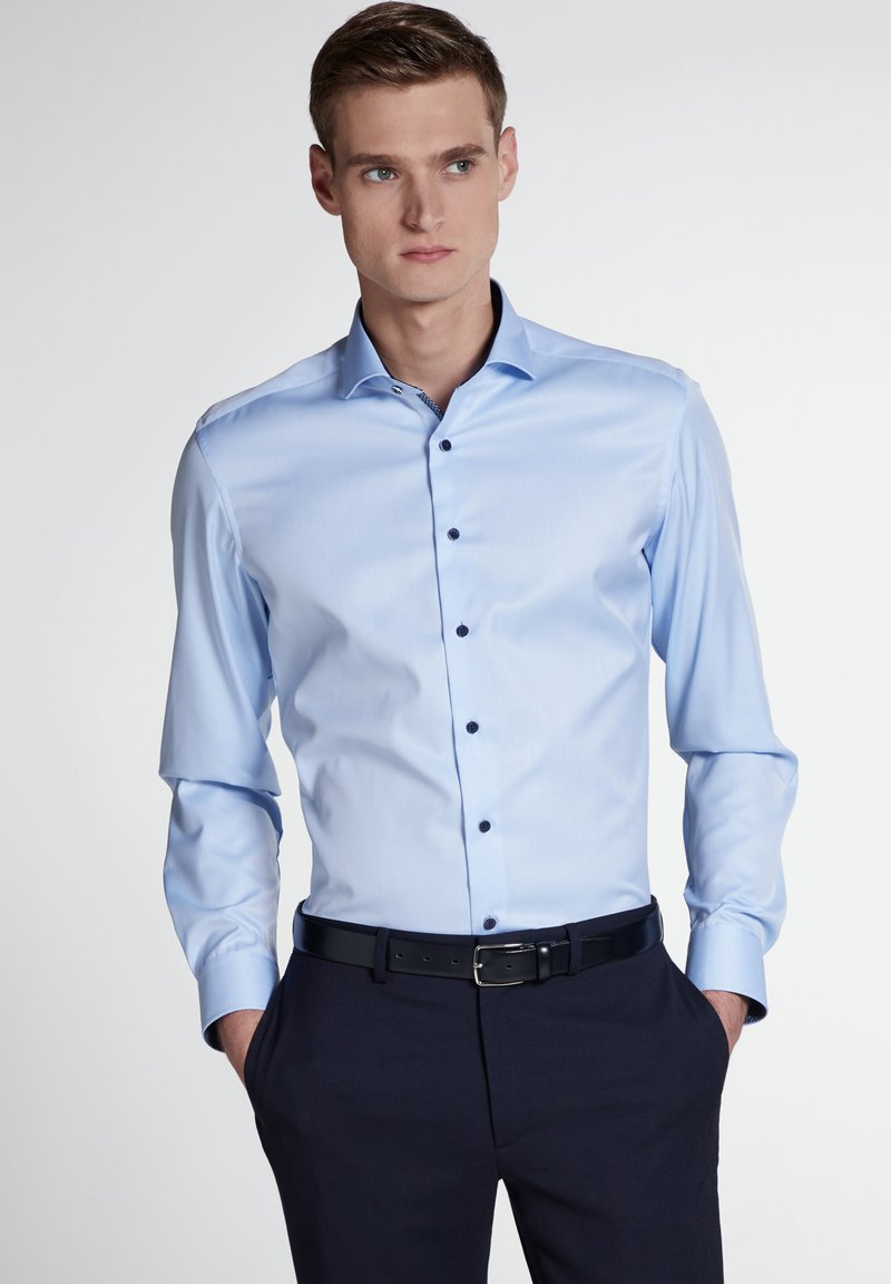 Eterna - SLIM FIT  - Zakelijk overhemd - light blue
