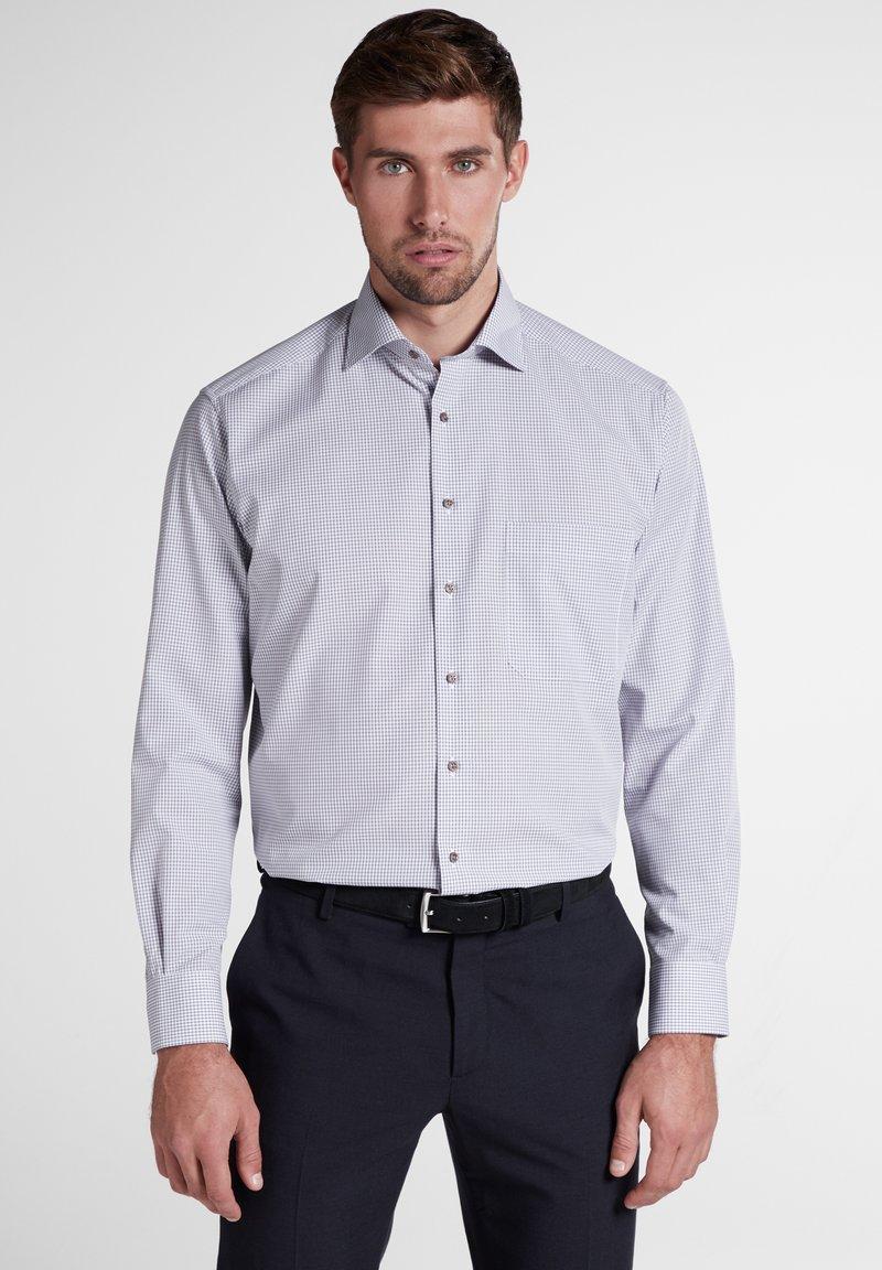 Eterna - REGULAR FIT - Hemd - beige/light blue