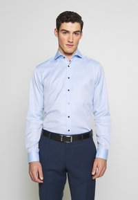 Eterna - HAI-KRAGEN SLIM FIT - Zakelijk overhemd - blue - 0