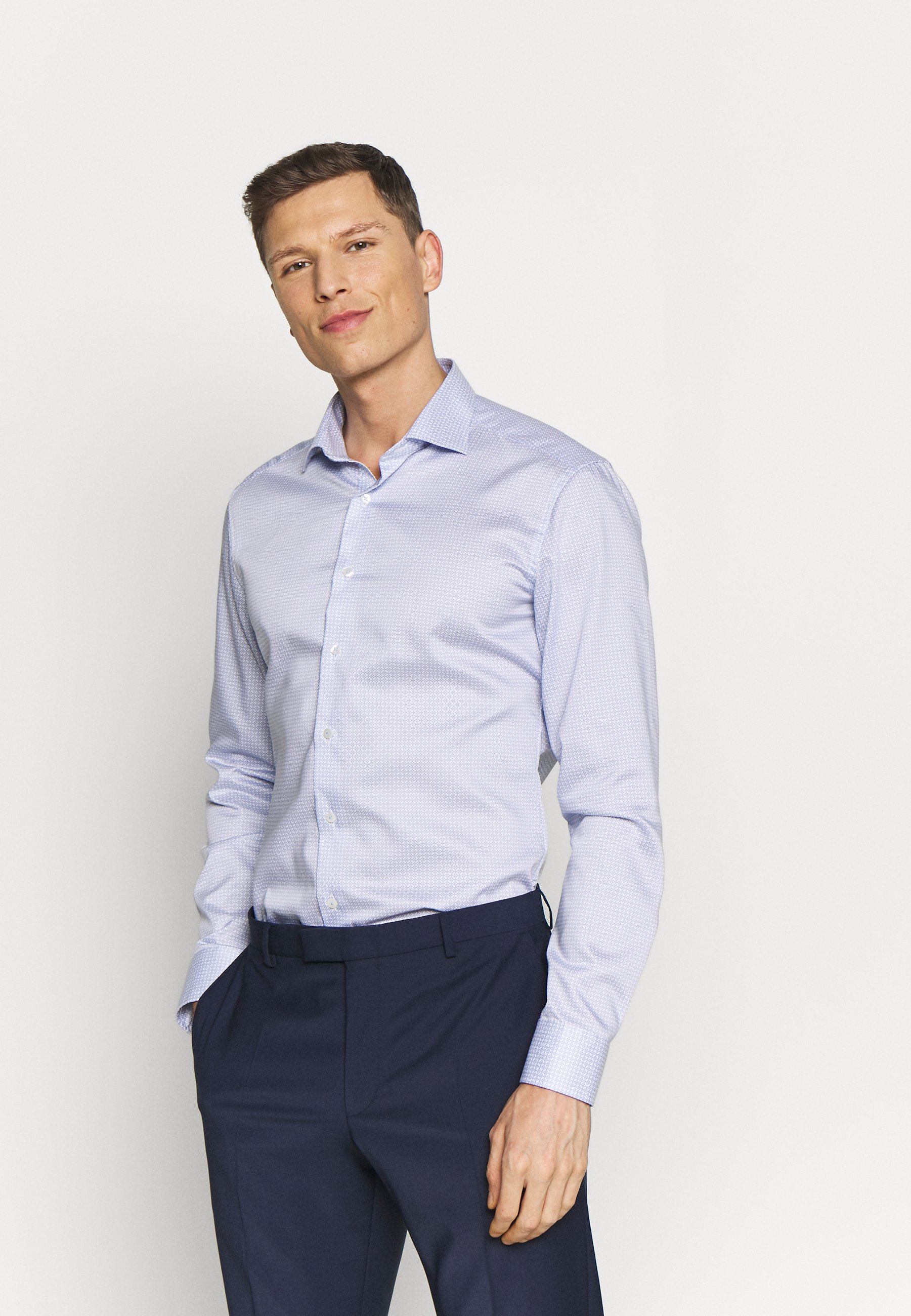 Eterna SLIM FIT - Koszula biznesowa - blue