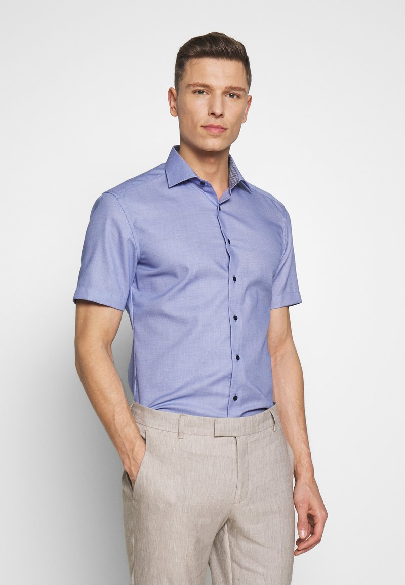 Eterna - SLIM FIT CLASSIC KENT KRAGEN - Skjorte - royal