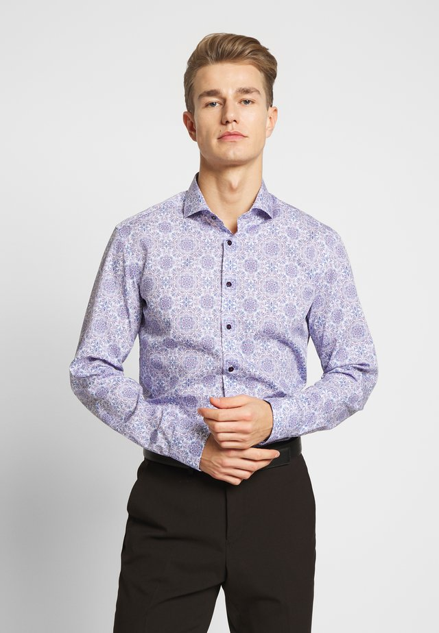 SLIM FIT HAI KRAGEN - Shirt - royal