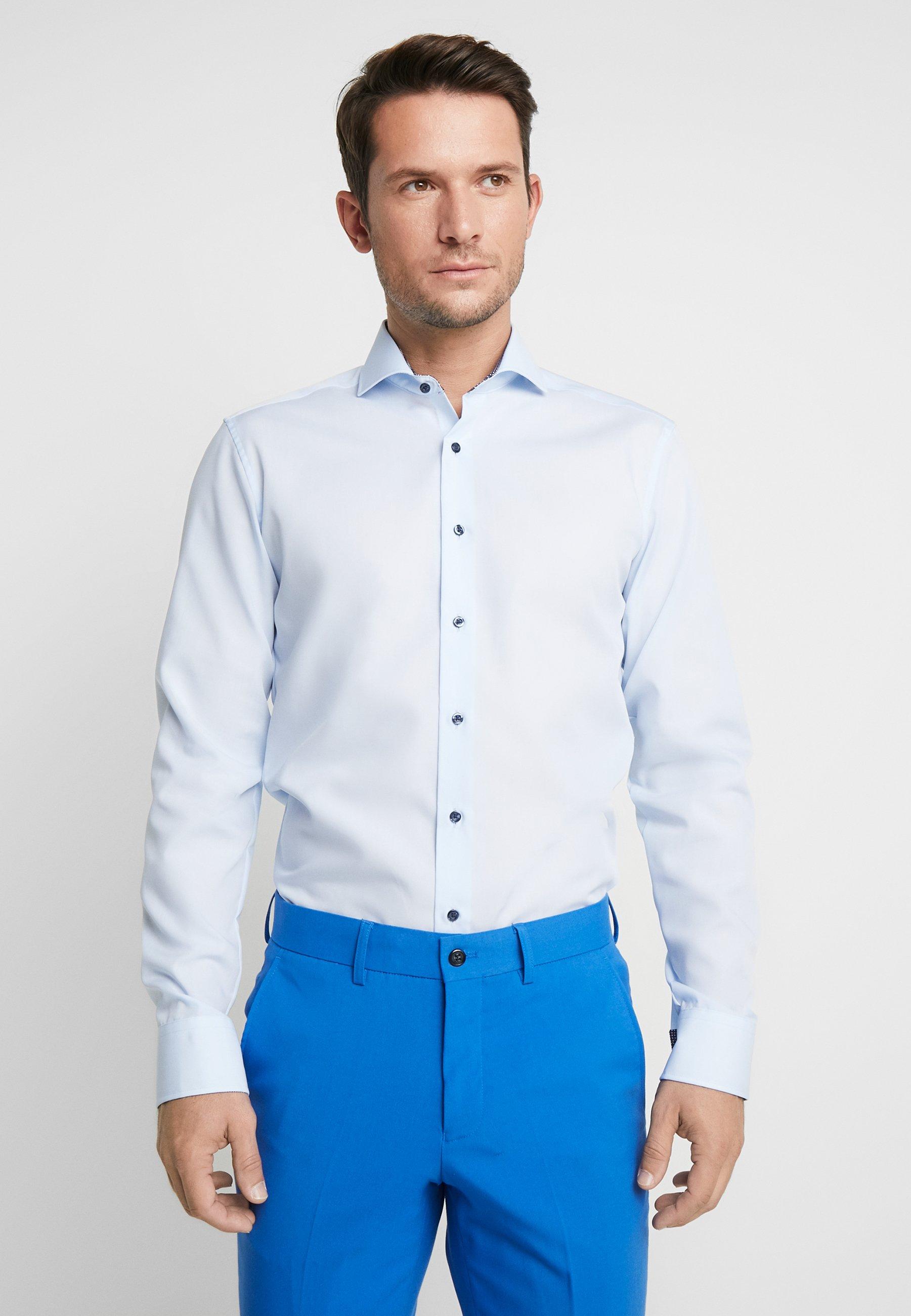 Eterna SLIM FIT - Koszula biznesowa - light blue
