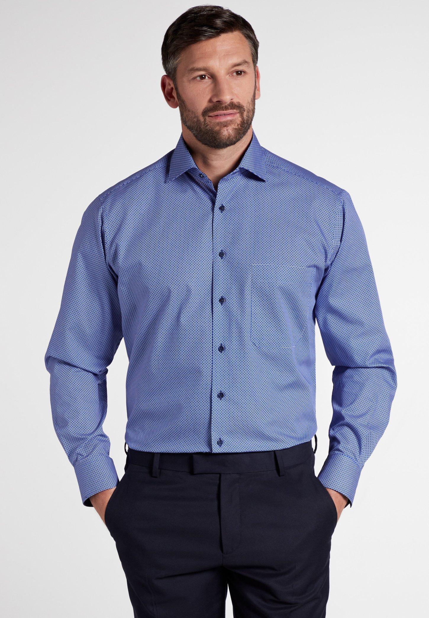 Eterna COMFORT FIT - Hemd - blue | Herrenbekleidung 2020