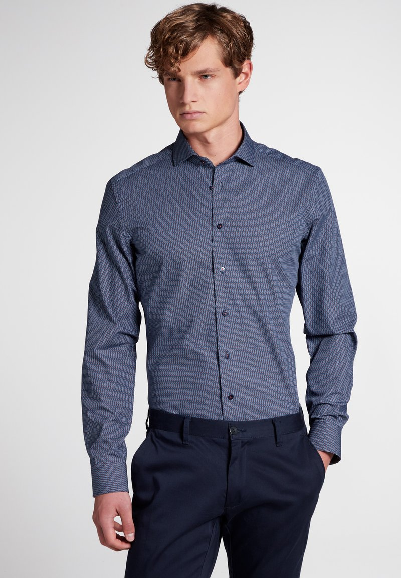 Eterna - SLIM FIT - Overhemd - blue