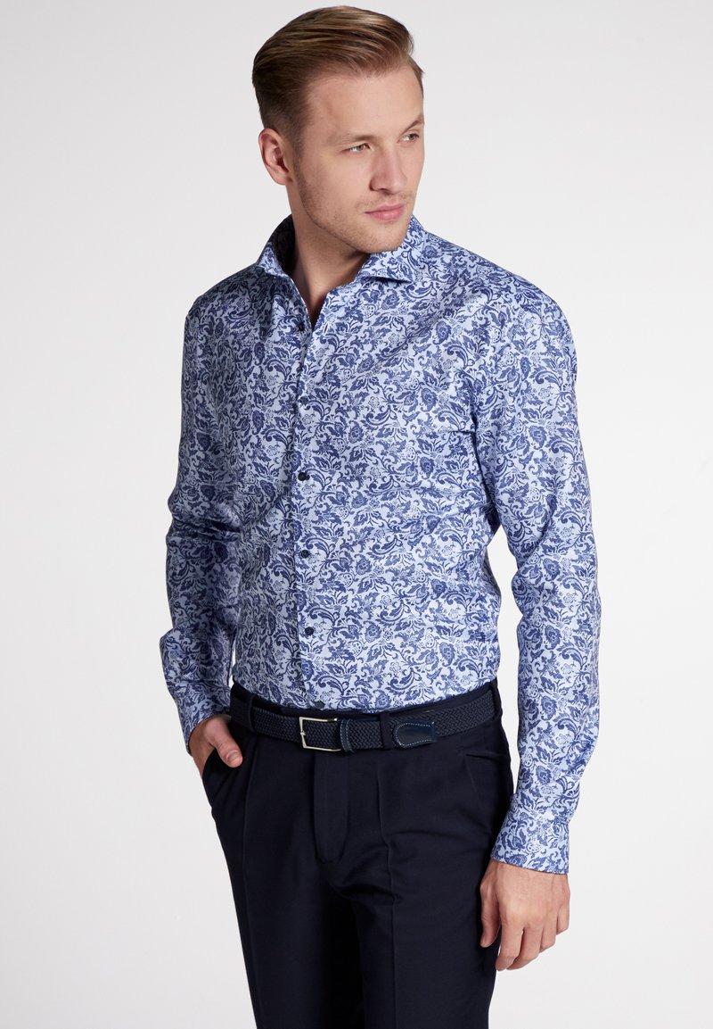 Eterna - SUPER-SLIM FIT - Overhemd - light blue