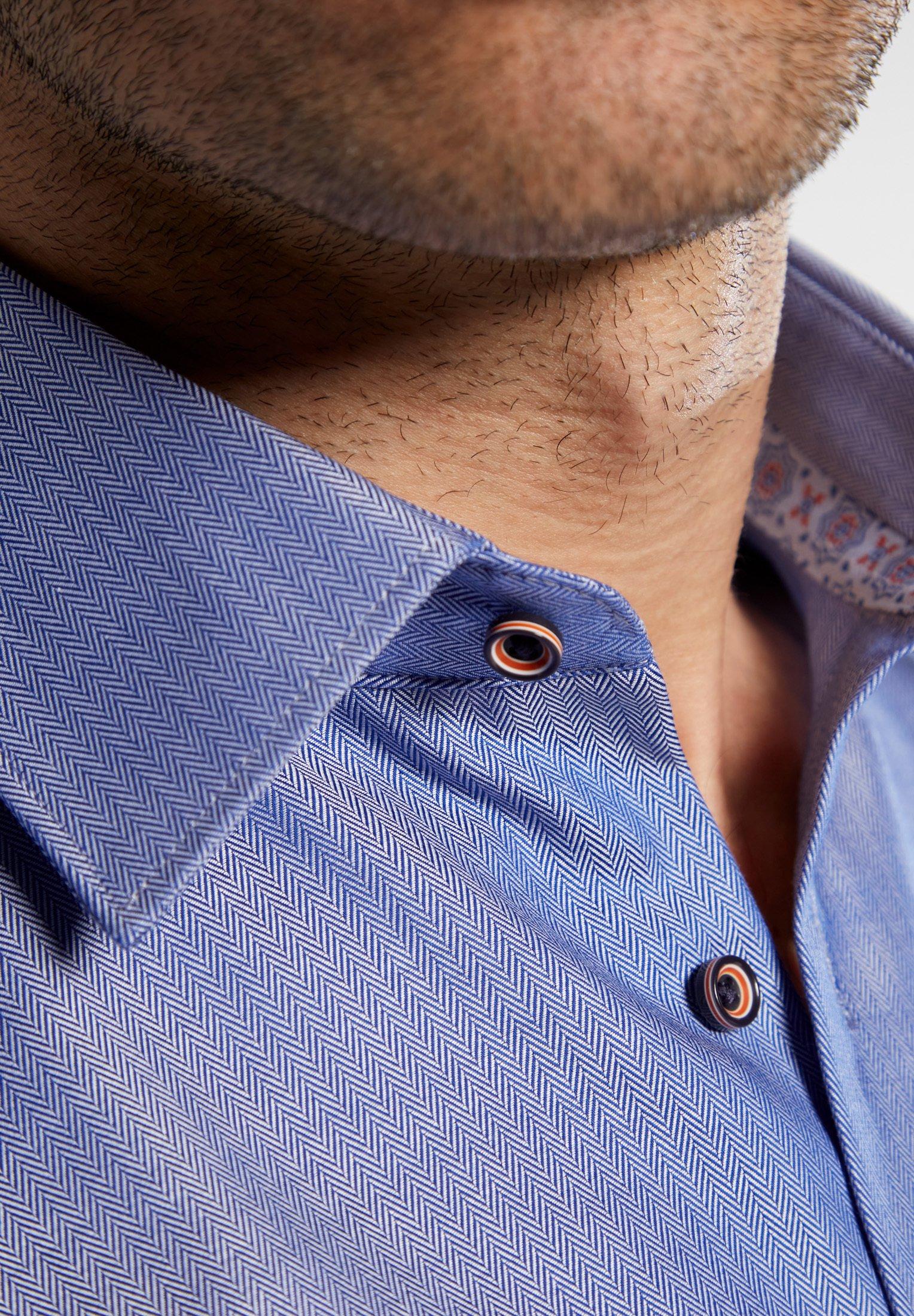Eterna Modern Fit - Overhemd Blue rp1yfeY