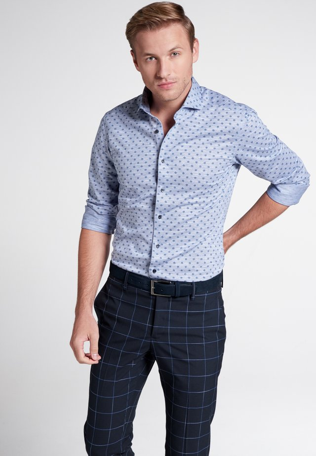 SLIM FIT - Overhemd - blue/white