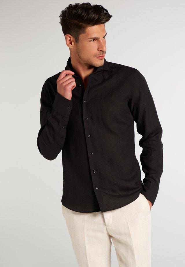 SLIM FIT - Hemd - schwarz