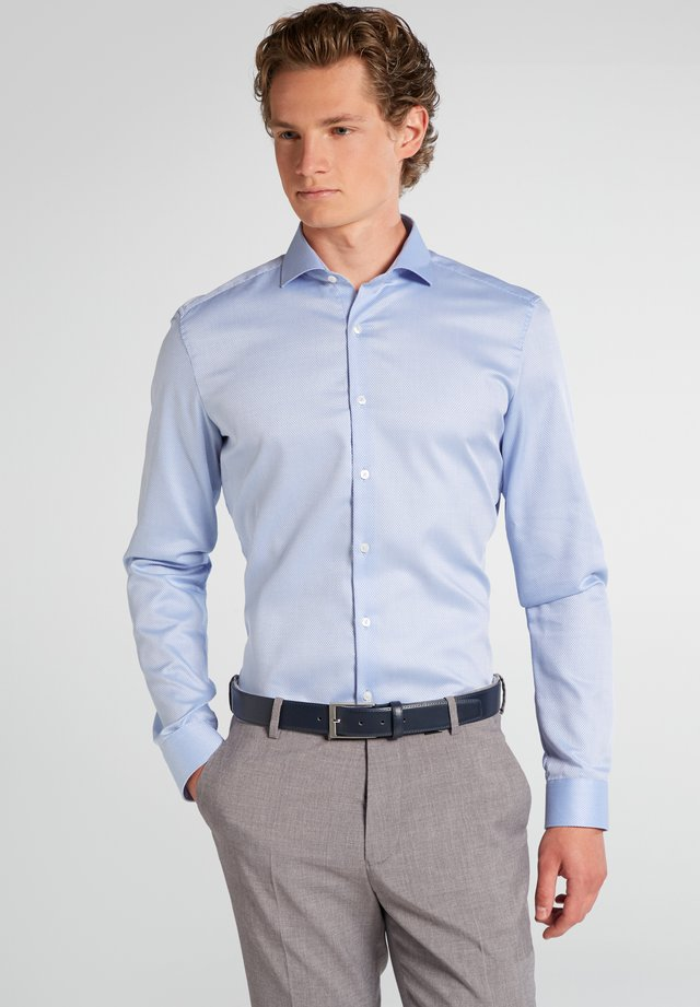SUPER SLIM FIT - Hemd - hellblau