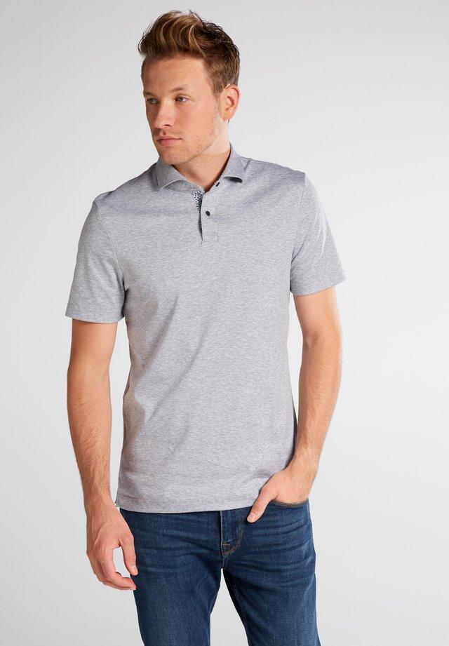 SLIM FIT - Poloshirt - grau