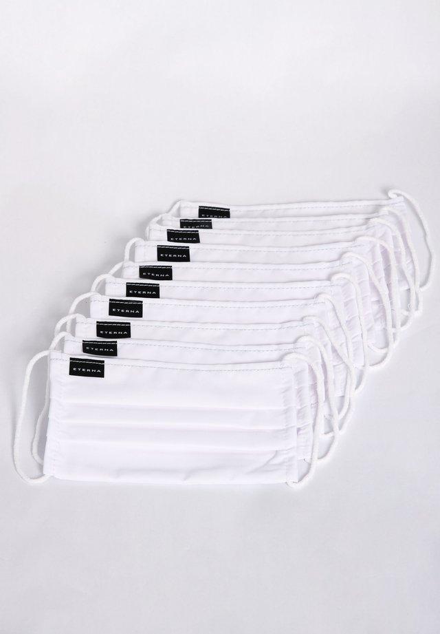 10 PACK  - Stoffmaske - weiß