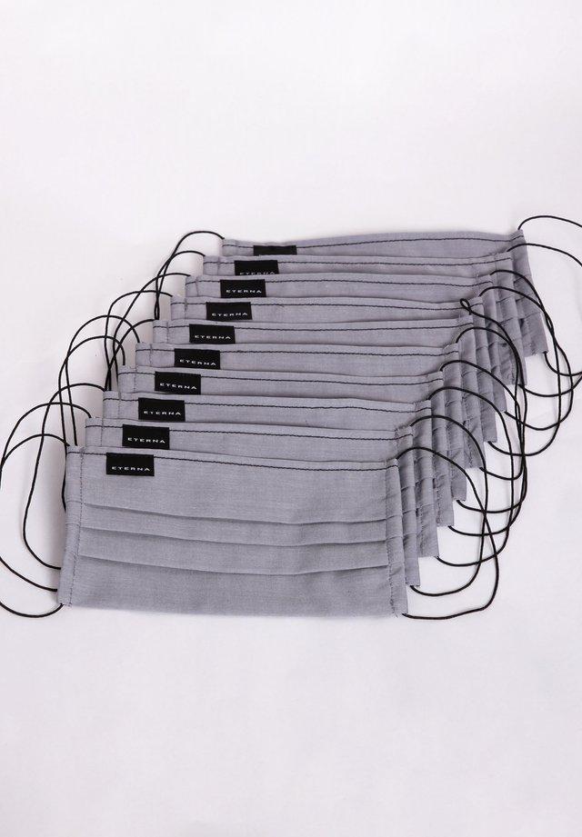 10 PACK  - Stoffmaske - grau