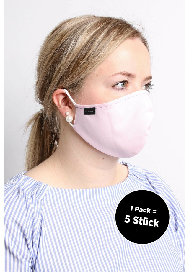 5 PACK - Stoffmaske - rose