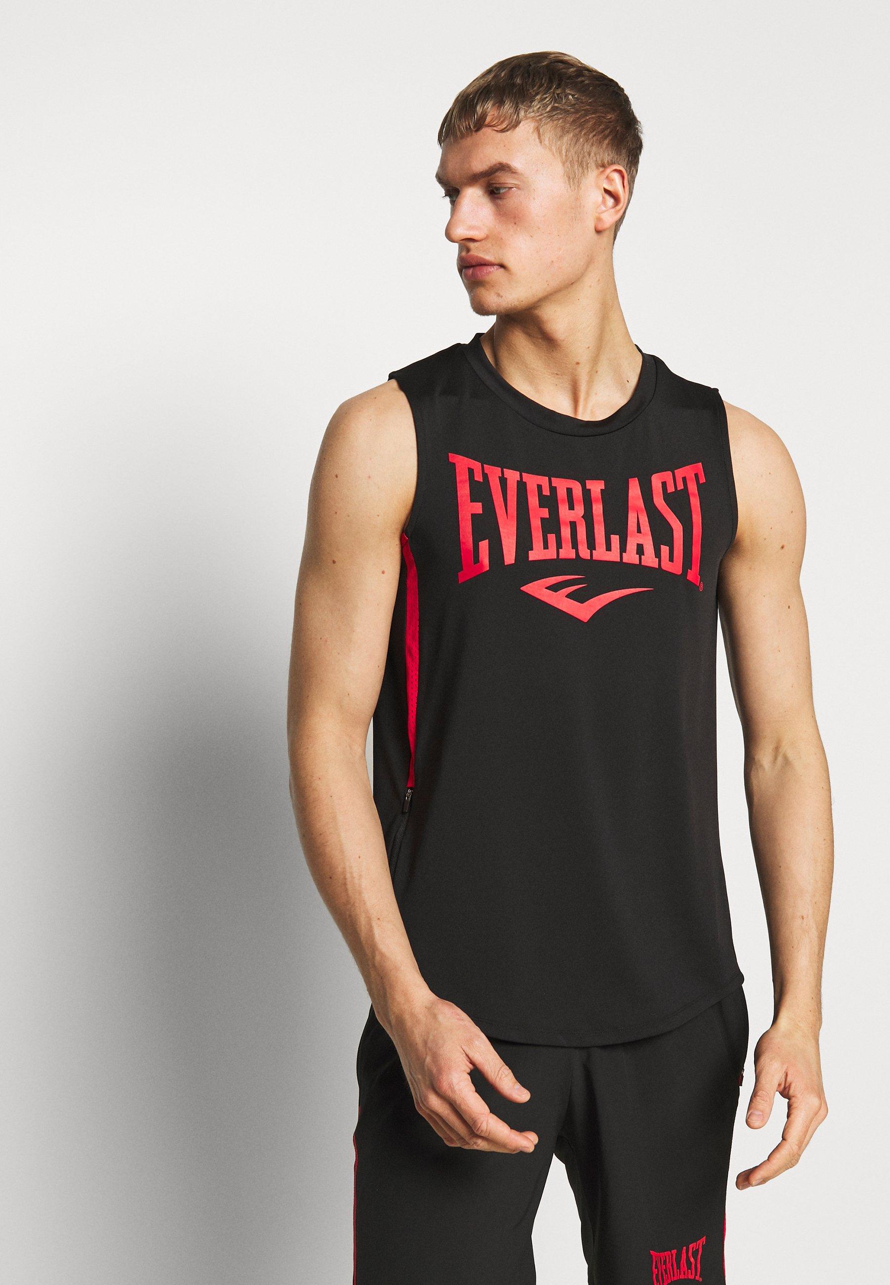 Everlast MACHIDA - Top - black/red