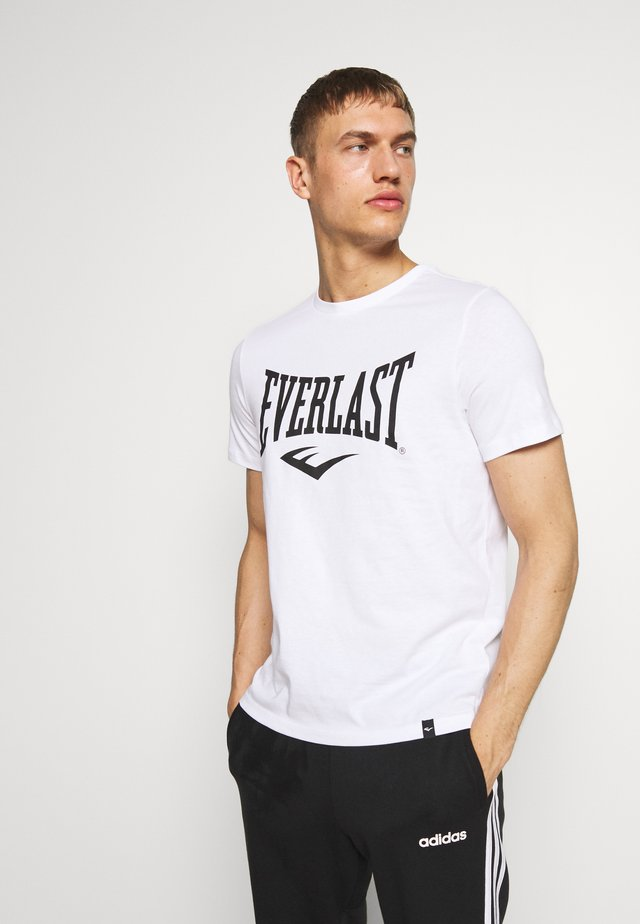 LOUIS - T-shirts med print - white