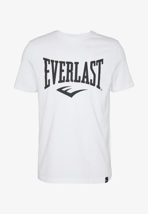LOUIS - T-shirt z nadrukiem - white