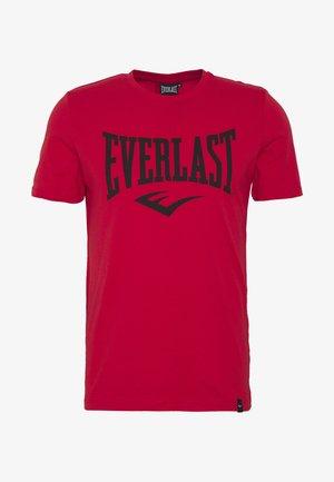 LOUIS - Print T-shirt - red