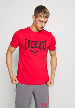 LOUIS - Print T-shirt - red