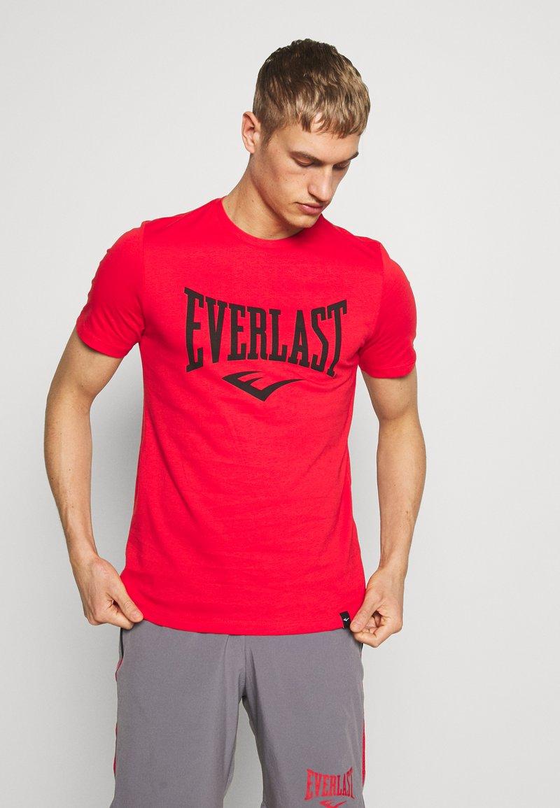 Everlast - LOUIS - T-shirt print - red