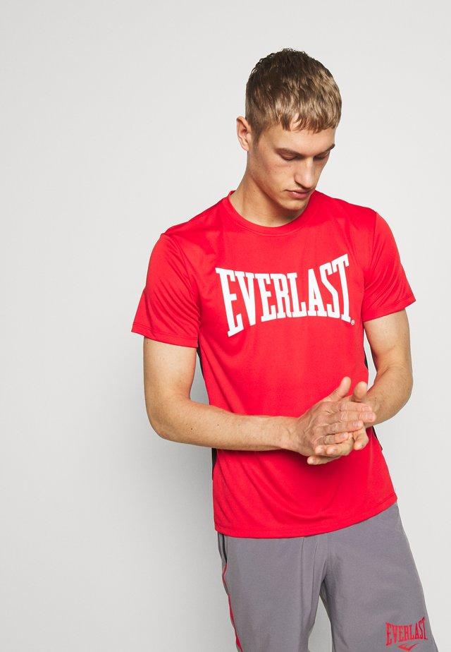 JUMP - T-shirt med print - red