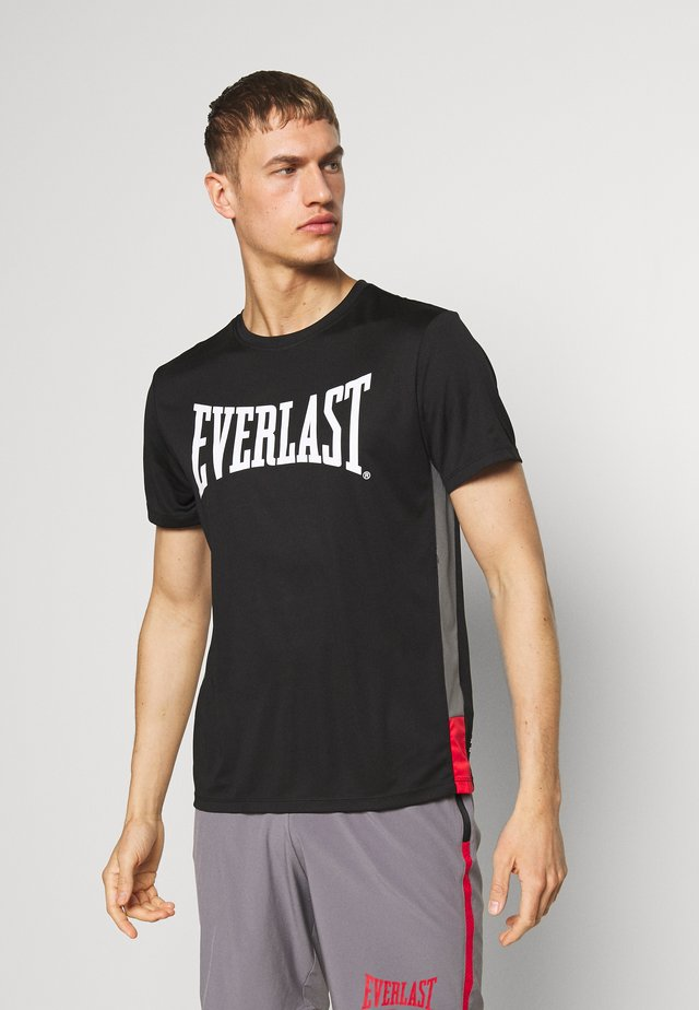 JUMP - T-shirt med print - black