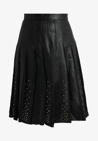 MARCIANO LOS ANGELES - MALVINA PLEATED SKIRT - A-line skirt - jet black - 3