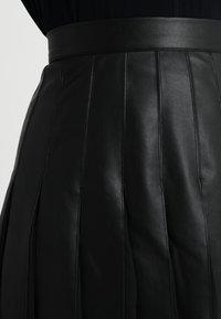 MARCIANO LOS ANGELES - MALVINA PLEATED SKIRT - A-line skirt - jet black - 4