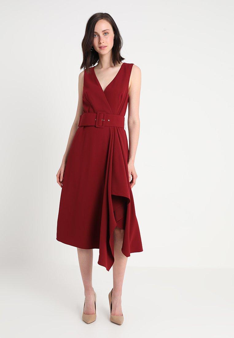 MARCIANO LOS ANGELES - ATIGAH DRESS - Vestido largo - torino red