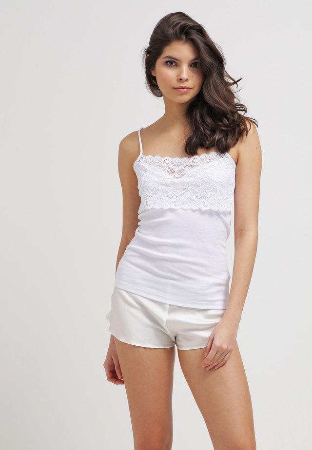 MOMENTS - Undershirt - white