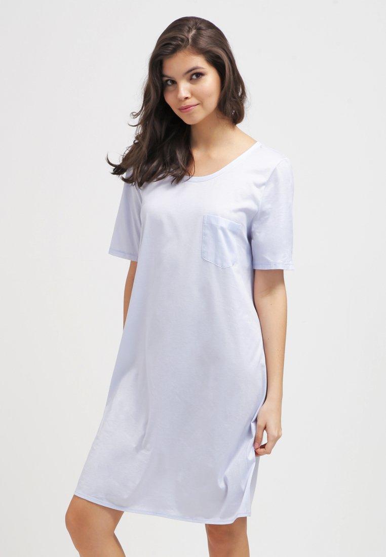 Hanro - COTTON DELUXE - Noční košile - blue glow