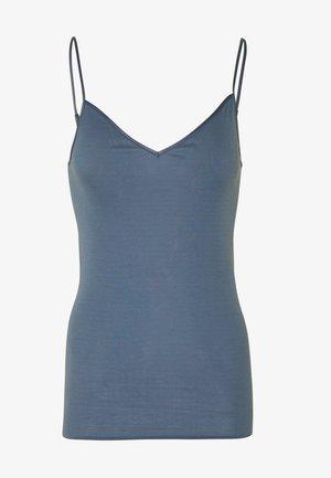 SEAMLESS SPAGHETTI - Hemd - caribbean blue
