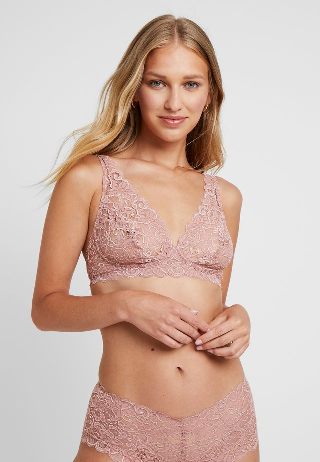 MOMENTS SOFT BRA - Topp - rouge