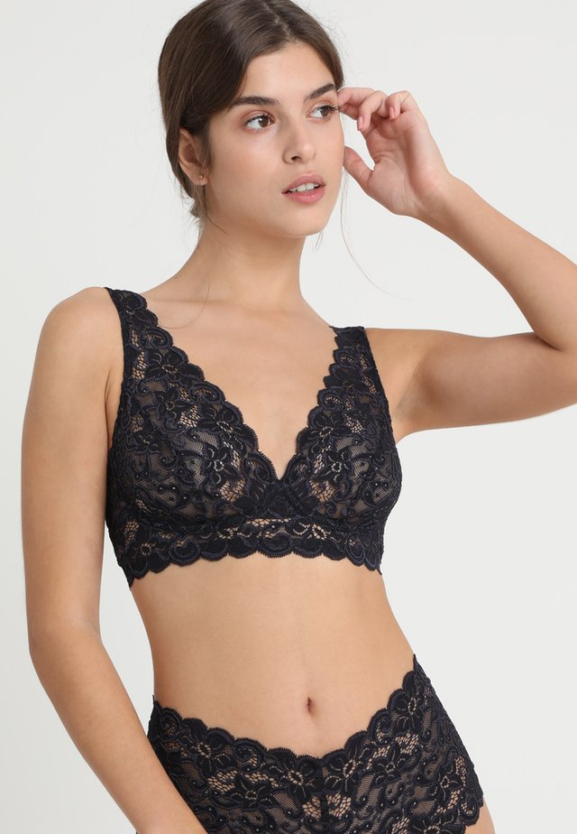 MOMENTS SOFT BRA - Alustoppi - midnight