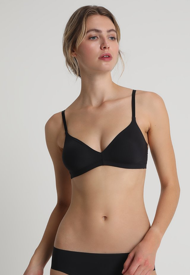 SMOOTH ILLUSION SOFT CUP - Triangel-BH - black