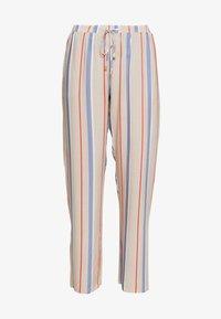 Hanro - SLEEP & LOUNGE HOSE LANG - Pyjamahousut/-shortsit - beige/blue - 3