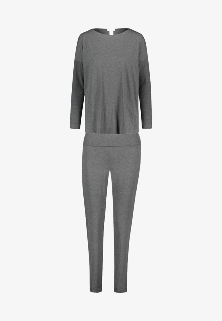Hanro - NATURAL ELEGANCE SET  - Pyjama - anthracite