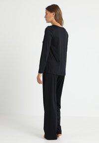 Hanro - MOMENTS ARM SET - Pyjama - black - 2