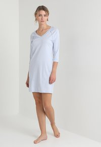 Hanro - PURE ESSENCE 3/4 ARM - Nightie - blue glow - 1