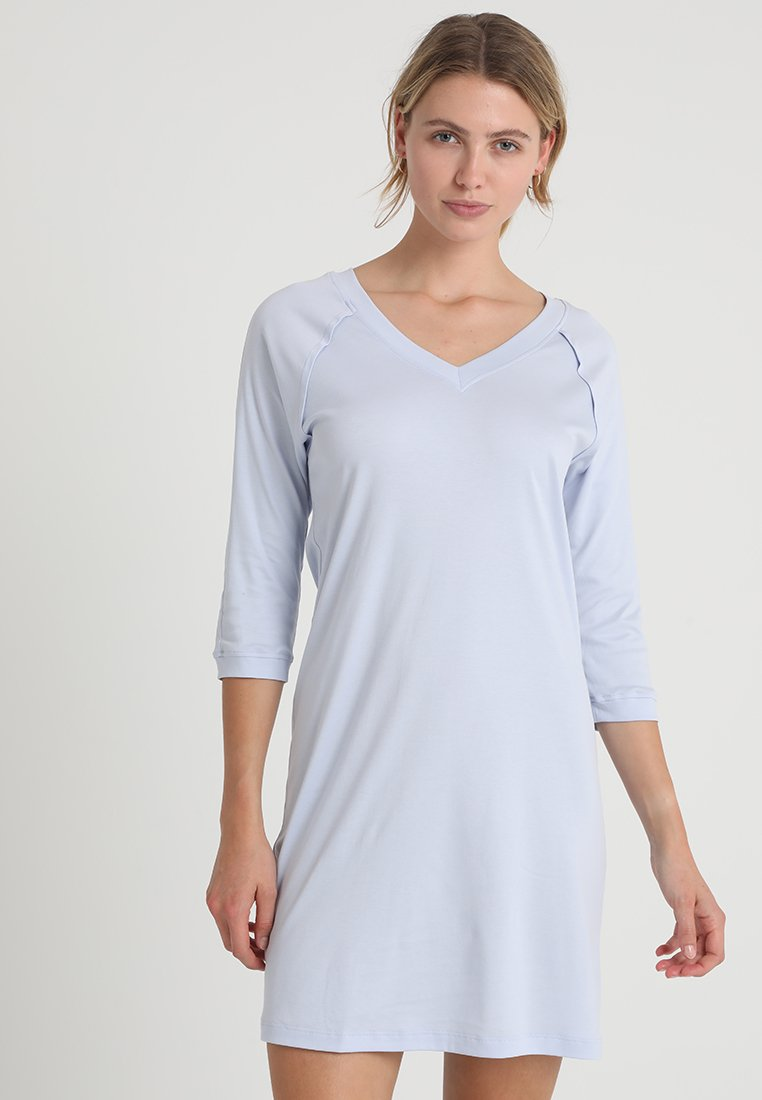 Hanro - PURE ESSENCE 3/4 ARM - Nightie - blue glow