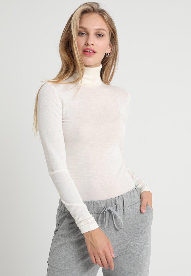 Hanro - WOOLEN-SILK MIX - Unterhemd/-shirt - cygne