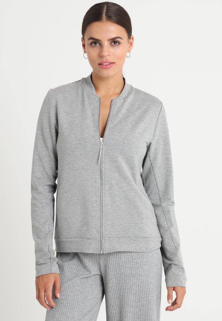 Hanro - BALANCE JACKE - Pyjamashirt - balance melange